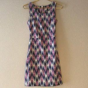 Dresses & Skirts - Purple patterned dress